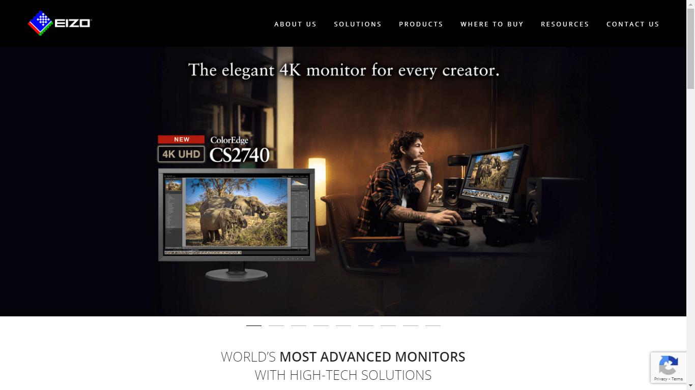 Website Maintenance Service - EIZO Corporation
