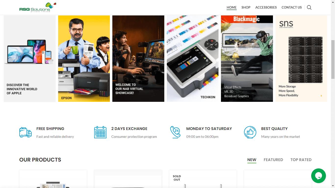 Website Maintenance Service - RSG Solutions Pvt Ltd