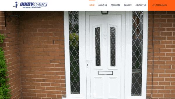 Website Designing Service - Innovative uPVC Windows